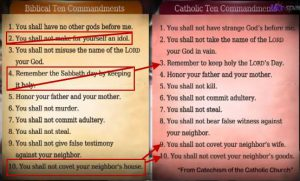 10 commandment butchered