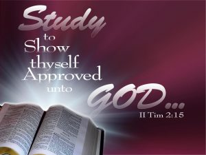 Bible Download Study to show approved