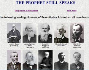 The prophet still speaks