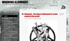 Warning Illuminati