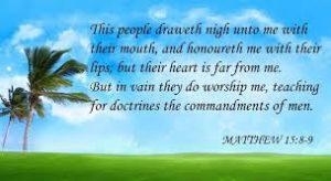 doctrines of men