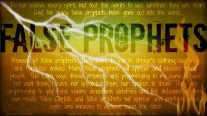 False Doctrines false-prophets