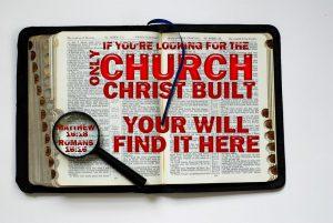 one true church