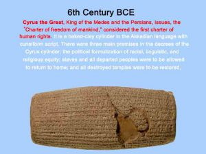 Cylinder of Cyrus the Great1