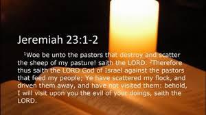 Jeremiah 23-1-2