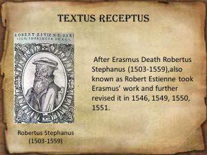 Robert Stephanus 1503-1559