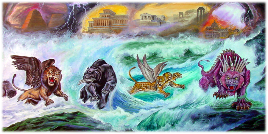 separation of church and state 4 beasts Daniel 7