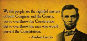 Abraham Lincoln we the people