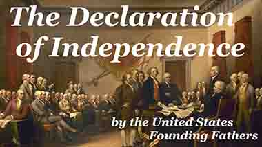 Revelations Land Beast Declaration of Independence