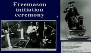 Freemason initiation ceremonies