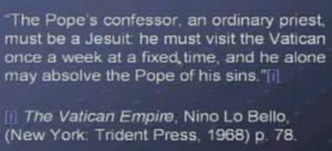 Popes confessor
